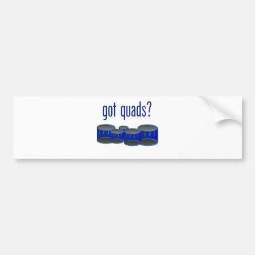 Got Quads? Car Bumper Sticker