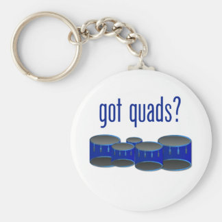 Got Quads? Keychain
