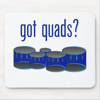 Got Quads? Mouse Pad