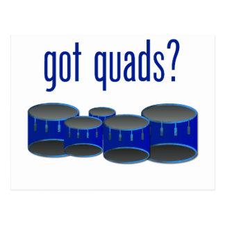 Got Quads? Postcard