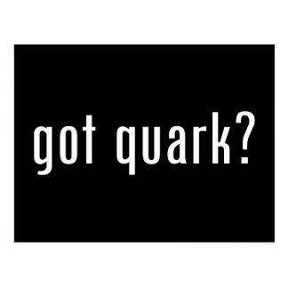 got quark? postcard