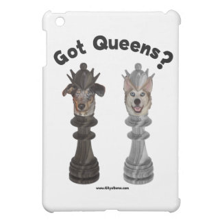 Got Queens Chess Dogs iPad Mini Covers