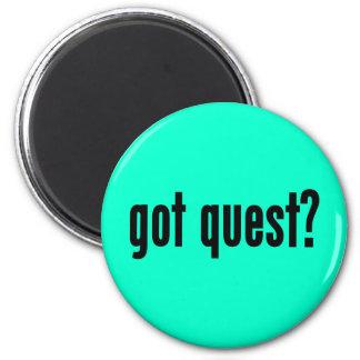 got quest? 2 inch round magnet