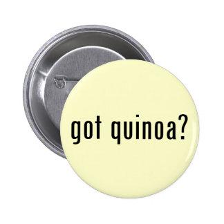 got quinoa? button