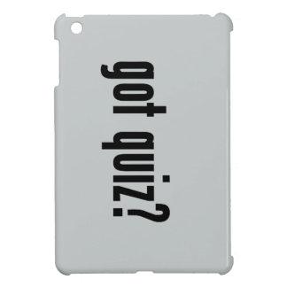got quiz? iPad mini cases