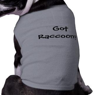 Got Raccoon? Dog Tshirt