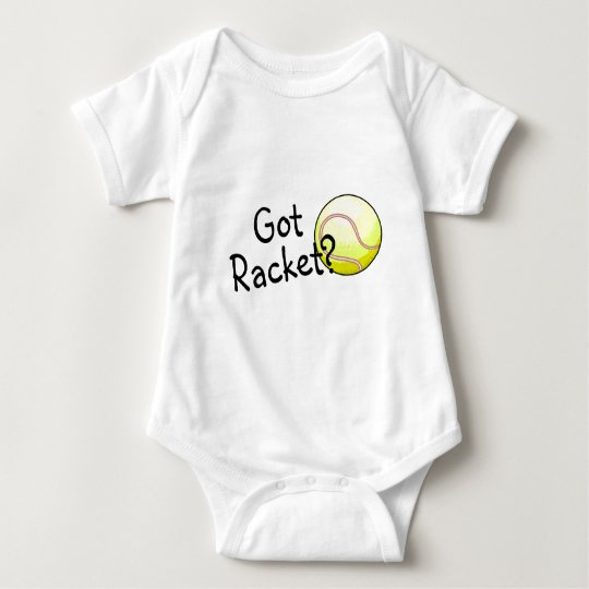 Got Racket? (Tennis) Baby Bodysuit
