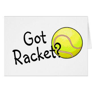 Got Racket? (Tennis Ball) Greeting Card