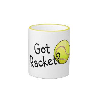 Got Racket? (Tennis Ball) Ringer Mug