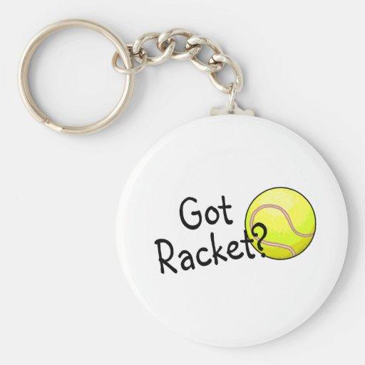 Got Racket? (Tennis) Basic Round Button Keychain