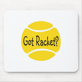 Got Racket Tennis Mouse Pad