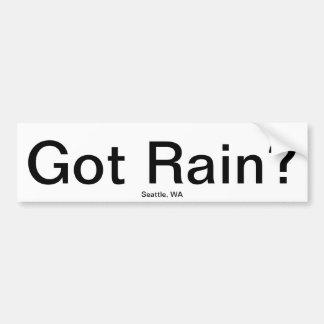 Got Rain? Bumper Sticker