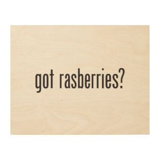 got rasberries wood wall art