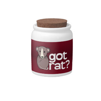 Got Rat? Candy Jars
