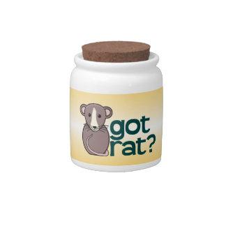 Got Rat? Candy Jar