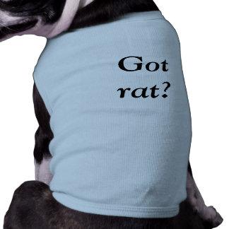 Got rat? dog t-shirt