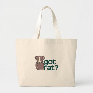 Got Rat? Large Tote Bag
