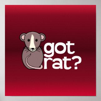 Got Rat? Posters