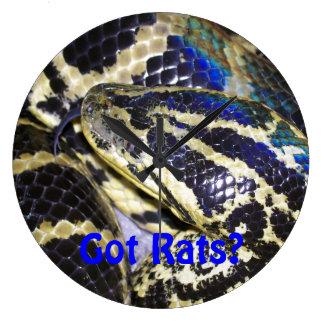 Got Rats? Anaconda Clock