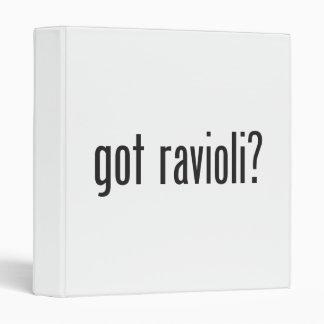 got ravioli binder