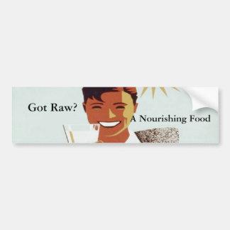 Got Raw Bumpersticker Bumper Sticker