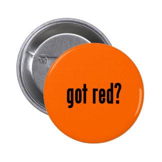 got red? 2 inch round button