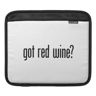 got red wine sleeves for iPads