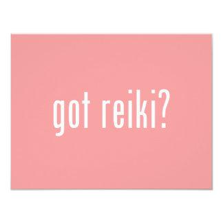 Got Reiki? 4.25x5.5 Paper Invitation Card