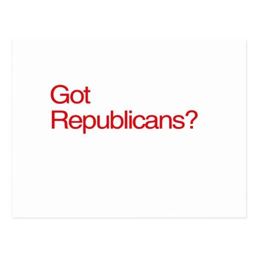 GOT REPUBLICANS? POSTCARD