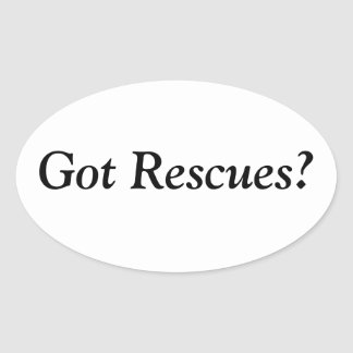 Got Rescues? Stickers