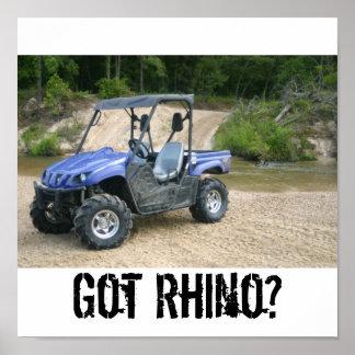 Got Rhino? Poster