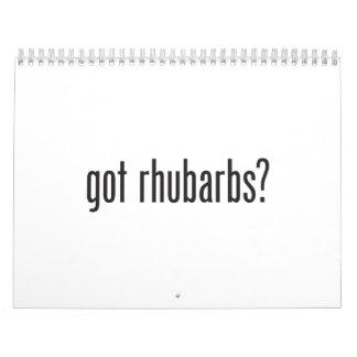 got rhubarbs calendars