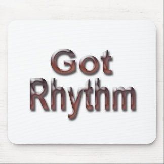 Got Rhythm2 Mouse Pad