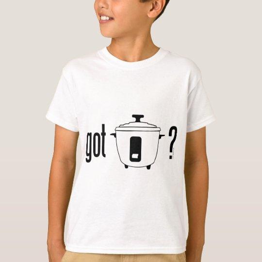 Got Rice? (cooker) T-Shirt