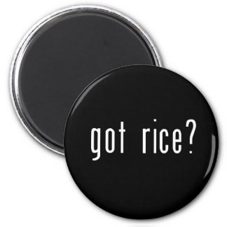got rice? refrigerator magnets