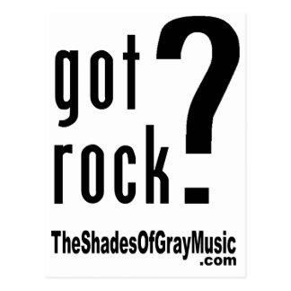got rock design (w-URL) Postcard