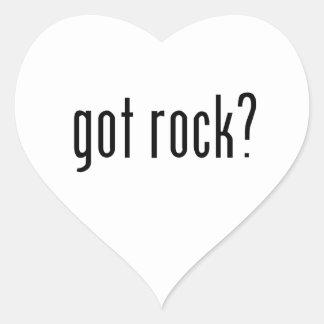 got rock? heart sticker