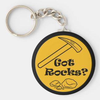 Got  Rocks? Rockhound Button Keychain