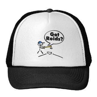 Got Roids Baseball Stickman Hat