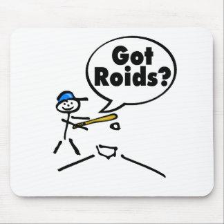 Got Roids Baseball Stickman Mouse Pad