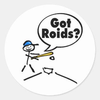 Got Roids Stick figure Sticker