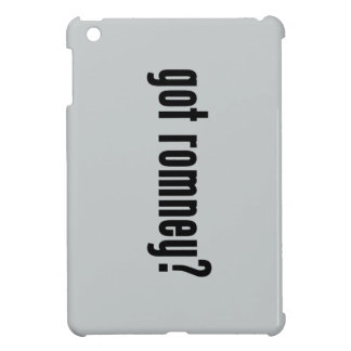 got romney? iPad mini cover
