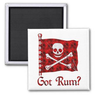 Got Rum? 2 Inch Square Magnet
