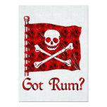 Got Rum? 5x7 Paper Invitation Card