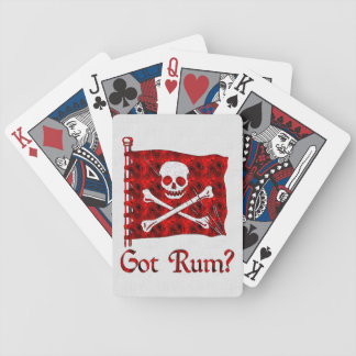Got Rum? Bicycle Playing Cards