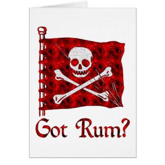 Got Rum? Card