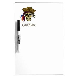Got Rum? Dry-Erase Board