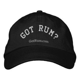 """""""Got Rum?"""" Embroidered Cap"""