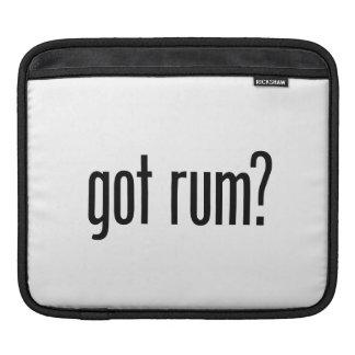 got rum iPad sleeves