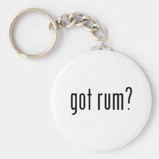 got rum? keychain